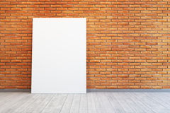 Room with blank picture Stock Photos