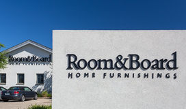Room & Board Store Exterior Stock Image