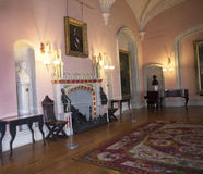 Room in Bodelwyddan Castle North Wales Stock Image