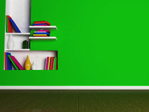 A room in bright colors with the niche, Royalty Free Stock Photography