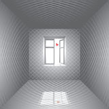 Room and butterfly. Royalty Free Stock Photos