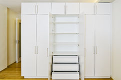 Room Cabinets Stock Photography