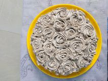 Room cake af royalty-vrije stock afbeelding
