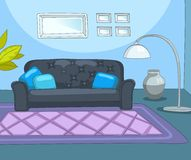 Room Cartoon. Royalty Free Stock Image