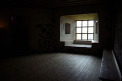 Room of Castle royalty free stock photography