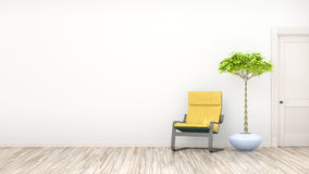 Room with a chair Royalty Free Stock Images