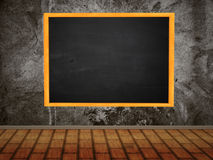 Room with chalkboard Royalty Free Stock Image