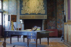 Room in the Chateau de Blois Stock Image