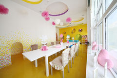 Room for children in cafe Anderson Royalty Free Stock Photos