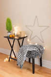 Room with Christmas decorations Royalty Free Stock Photography