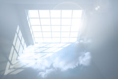 Room with cloud Stock Images