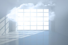 Room with cloud Royalty Free Stock Image
