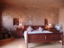 Room in desert, Rajasthan, India Royalty Free Stock Photos