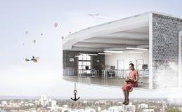 Room Design Aloft . Mixed Media Stock Photography