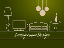 Room design Royalty Free Stock Photography