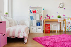 Room design for schoolgirl Stock Image