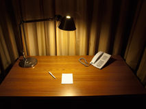 Room desk Royalty Free Stock Photography