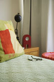 Room detail. In a modern apartment in Mexico royalty free stock image