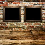 Room detail with picture frame Royalty Free Stock Photo