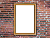 Room detail with picture frame Stock Photos