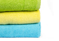 Room detail.  towels. Royalty Free Stock Photo