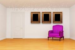 Room with door  Stock Images