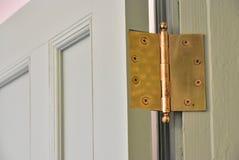 Room door hinges Stock Photography