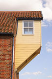 Room extension. Extra room built on side of building in Cromar Norfolk England Royalty Free Stock Photography