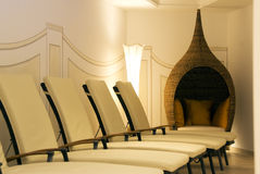 Room For Relaxation In A Spa Stock Photography