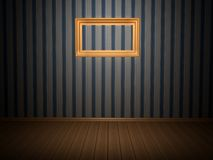 Room with frame Stock Photography