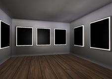 Room framework decoration Royalty Free Stock Photo