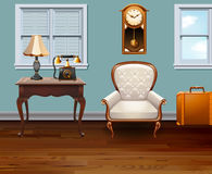 Room full of vintage furniture Royalty Free Stock Image