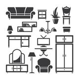 Room furniture Royalty Free Stock Images