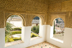 Room of Generalife Royalty Free Stock Photography