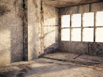 A room in grunge colors Stock Photos