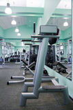 Room with gym equipment Royalty Free Stock Image