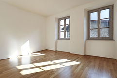 Room hardwood floor. Beautiful modern apartment, room hardwood floor Stock Photos