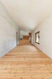 Room with hardwood floor Royalty Free Stock Image