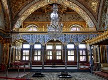 Room of harem palace Topkapi stock images