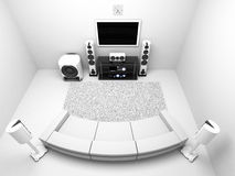 Room-HI-FI2(0).jpg Stock Image