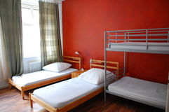 Room in Hostel Royalty Free Stock Photo