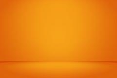 Room illuminated with orange light Stock Images