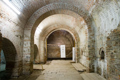 Room inside Curtea Veche Old Princely Court Royalty Free Stock Photos