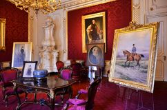 Room inside the imperial palace in Vienna Stock Photography