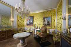 Room inside the Palace of Fontainebleau, France Stock Photography