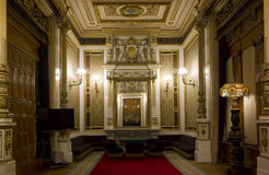 Room inside Vienna Opera House Stock Images