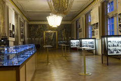 Room inside Vienna Opera House Royalty Free Stock Photography