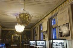 Room inside Vienna Opera House Royalty Free Stock Photos