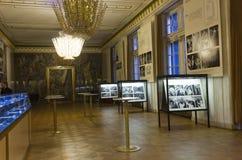 Room inside Vienna Opera House Royalty Free Stock Photo