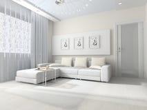 Room interior royalty free illustration